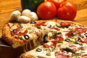 super pizza bien garnie